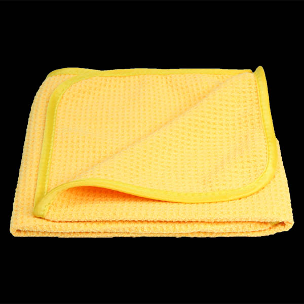 Gold Waffle Drying Towel 60x40